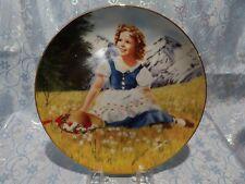 "J - Shirley Temple ""Heidi"" Collectors Plate"