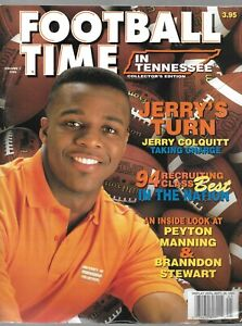 JERRY COLQUITT   Football Time in Tennessee Magazine Volume 7 1994 Edition