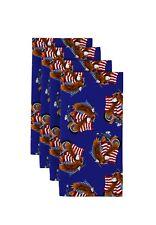 American Bald Eagle Blue Napkins 1 Dozen