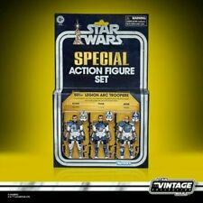 Star Wars The Vintage Coll: The Clone Wars 501st Legion Arc Troopers In Hand