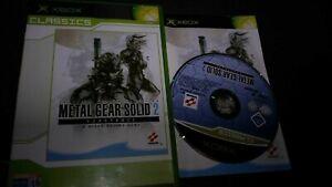 Metal Gear Solid 2 Substance Xbox Pal españa