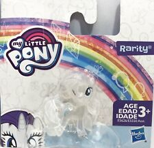 """My Little Pony Rarity Mini Clear Figure 2"""" Collectible Toy Hasbro"""