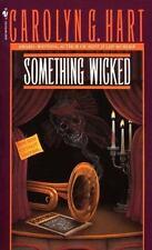 Death on Demand: Something Wicked 3 by Carolyn Hart (1988, CD Unabridged)