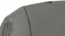 Clazzio Car Seat Cover Leather Grey Color Custom Fit for 2007-2011 Toyota Camry