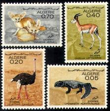 ALGERIE N°447/450** Faune saharienne, animaux 1967 ALGERIA animals set MNH