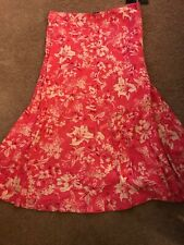 American living Floral Print Maxi Skirt L