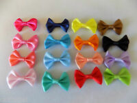 Satin Pre-tied Ribbon Bows embellishmnets crafts, scrapbooking, cards