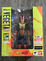 Dragon Ball Z Vegeta SH Figuarts Figure SDCC 2014 Comic Con Exclusive New Sealed