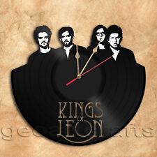 Kings Of Leon Wall Clock Vinyl Record Clock Upcycled Vinyl