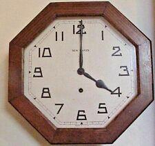 "Antique New Haven12"" Gallery Clock 1929"