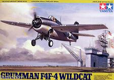 Tamiya 61034 1/48 Scale Model Aircraft Kit U.S.Navy Grumman F4F-4 Wildcat