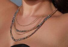 Cabouchon Halskette + Ohrring Passende Set Vergoldet Geo Juwelen
