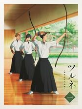 New Tsurune Vol.1 First Limited Edition DVD Booklet Card Japan PCBE-56071