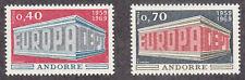Andorra-French - 1969 - SC 188-89 - VLH - Europa