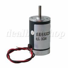 3000RPM DC24V CW/CCW Electric Brush Gear Motor High Speed 5mm Shaft