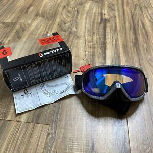 Scott Notice OTG Goggles Snowboard Ski Mountain Preowned
