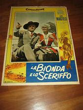 FOTOBUSTA,La bionda e lo sceriffo,The Sheriff of Fractured Jaw,JAYNE MANSFIELD,