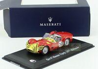 1/43 MASERATI Tipo 61 Nassau Trophy 1961 #78 Schroeder LEO MODELS