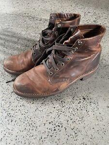 chippewa boots 9.5D