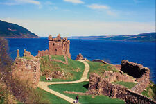 612084 Urquhart Castle And Loch Ness Scotland A4 Photo Print