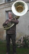 Sousaphone short action en siB NAUTILE neuf + étui et embouchure, soubassophone
