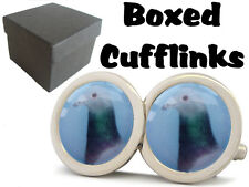 RACING PIGEON FANCIER BOXED CUFFLINKS NEW FREE UK SHIPPING