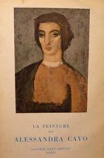 arte pittura Campini, La peinture de Alessandra Cavo 1957 Parigi René Drouet