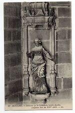 CPA 03 MOULINS interieur de la cathedrale sainte agathe sculture bois
