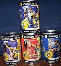 1997 PINNACLE WNBA 4 SEALED CAN LOT