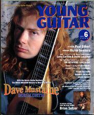 Young Guitar Jun/01 Megadeth Bon Jovi Richie Sambora Brian Setzer Lukather Paul