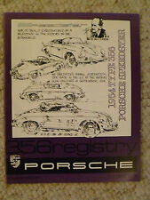 1985 Porsche 356 Registry Magazine Vol# 11 No. 1, RARE!! Awesome L@@K