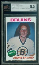 1975-76 TOPPS # 155 ANDRE SAVARD  PROOF BGS 8.5 FINEST UNIQUE