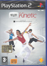 EYE TOY : KINETIC - PS2 (NUOVO SIGILLATO) ITALIANO
