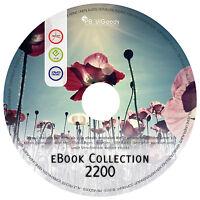 MEGA eBook Sammlung auf DVD 2200 eBooks KRIMI Abenteuer Science Fiction