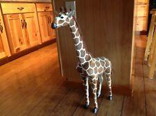 "Realistic Lifelike Giraffe 28"" Tall"