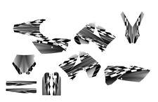 2005 - 2006 KTM SX SXF 125 250 450 525 Graphics kit #2500 gray metal