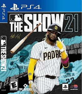MLB The Show 21 PS4 Playstation 4 Brand New Sealed