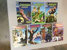 Jungle Comics 1-6 Complete Set 1 2 3 4 5 6 Plus Jumbo #1 A List  1997 (JC02)