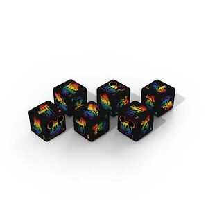 Disney Rainbow Collection Pride D6 Dice Set