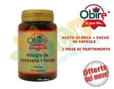 OBIRE®- Aceto Di Mele+Fucus 90 Capsule Integratore Naturale Grassi Metabolismo