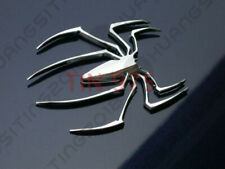 Car Fender Tank Cover Rear Trunk Metal 3D Spider Emblem Decorative Sticker Badge