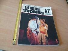 THE ROLLING STONES  A TO Z WEINER HOWARD 148 PAGES