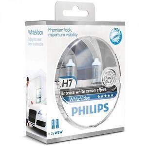 2x H7 Philips WhiteVision Xenon Effect 4300K PORSCHE CAYENNE (955)