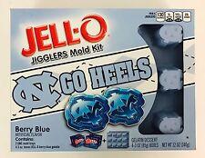 1X UNC Go Tar Heels Jello Jigglers Mold Kit, Limited, Jell-o Shots, Carolina