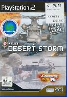 CONFLICT DESERT STORM PS2 Playstation 2 SCI gamer like new complete