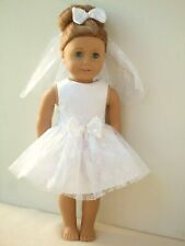 AMERICAN GIRL OUR GENERATION FIRST COMMUNION DRESS OUTFIT 18 INCH DOLL CLOTHES