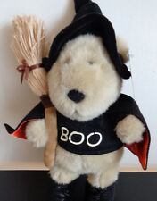 STARBUCKS Coffee HALLOWEEN Plush Bear BOO 11th Edition Bearista Witch Broom NEW