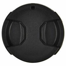 Center-squeeze Snap-On Lens Cap for Camera Photo Lens Diameter 52mm