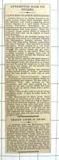 1927 Attempted Raid On Ponting's Stores High Street Kensington, Albert Stiles