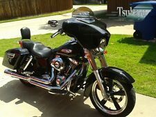Tsukayu Batwing GPS Fairing For Harley H-D FLD Dyna Switchback (Black)
